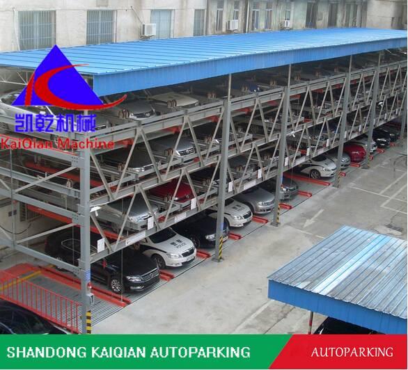 PSH semi-automated mechanical puzzle parking