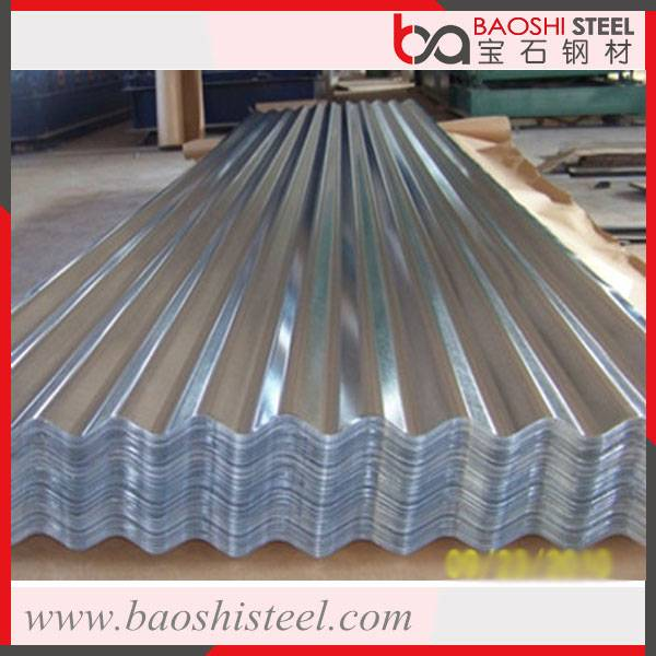 Anti corrosion colorful metal roofing sheet in best price from China