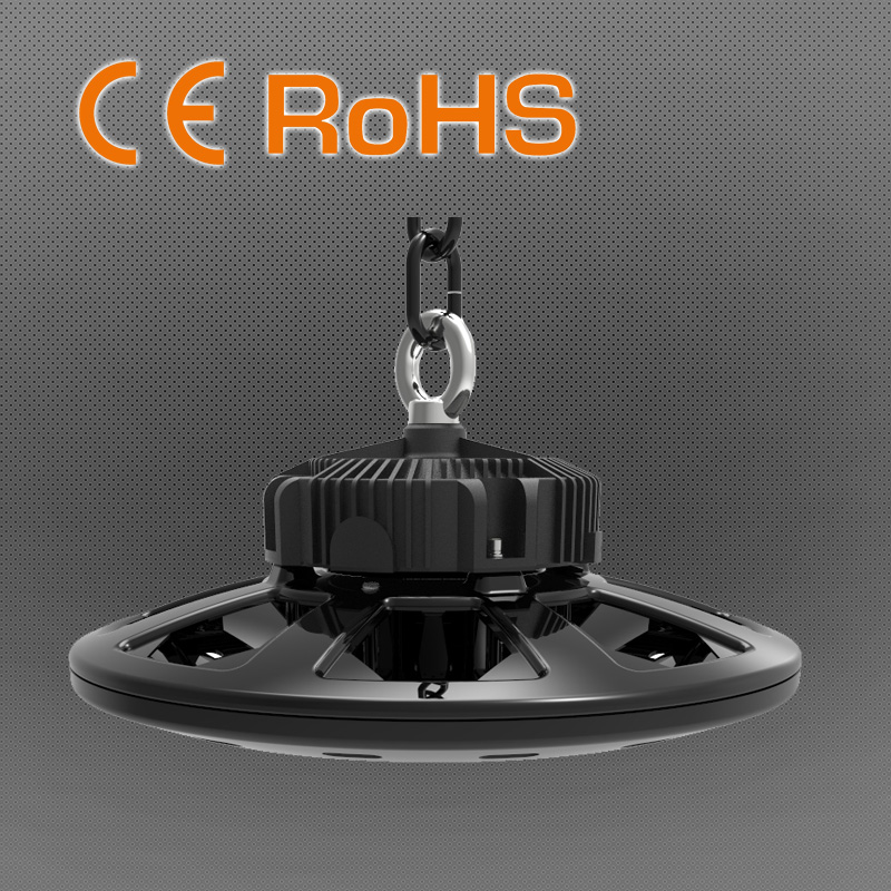 100/150/200W UFO Highb Bay Light with Mean Well Driver & Philips LED Chip