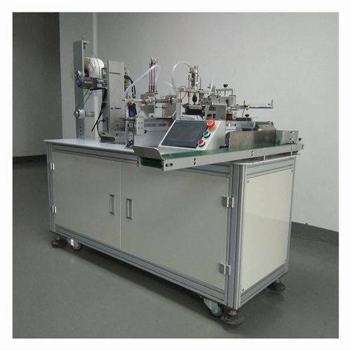 Plastic Bags Packaging Machines for Mobile Cell Phone Batteries Automatic Making Production in Facto