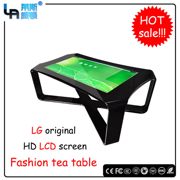 LASVD 42 inch infrared Aluminium alloy tea table design touch screen Interactive table