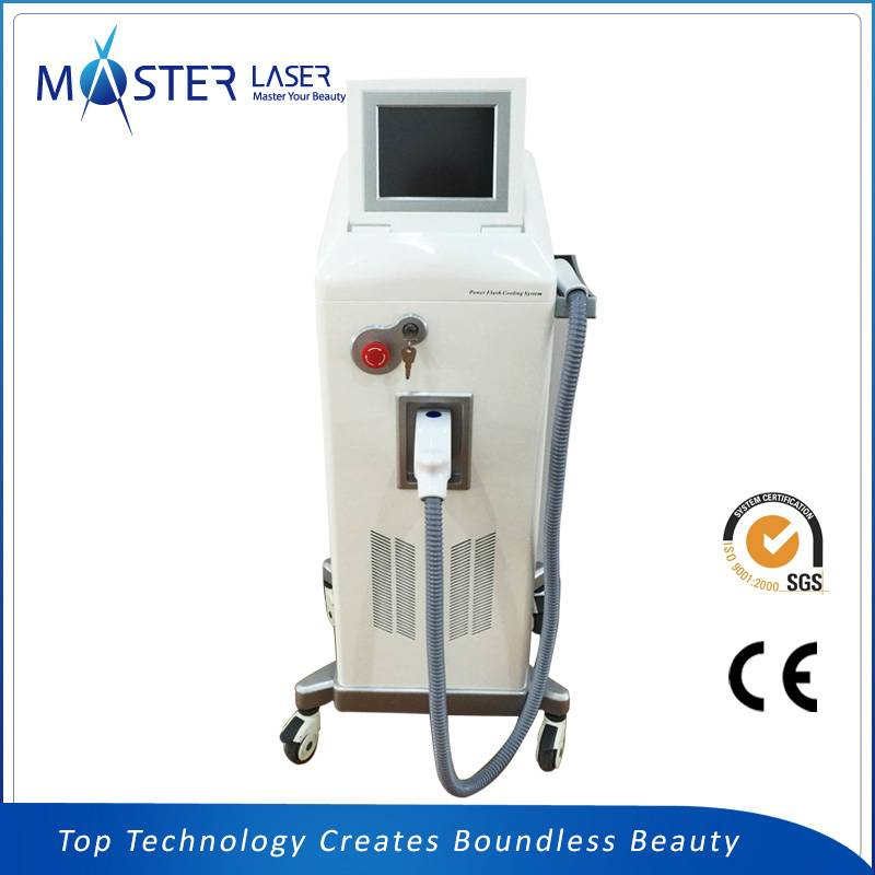 Multifunctional IPL+RF Vertical elight hair removal machine