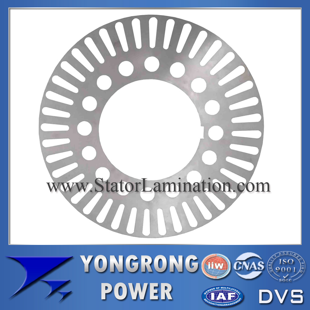 IE3 Premium Efficiency High Voltage Electric Motor Rotor Silicon Steel Lamination