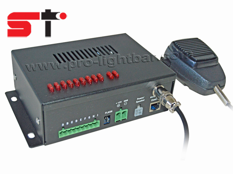 100W emergency vehicle siren car alarm SI100G