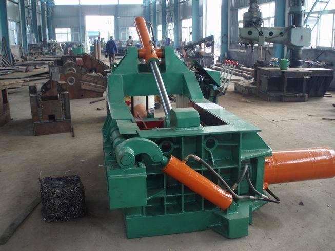 Y81 Hydraulic Scrap Metal Baler Machine