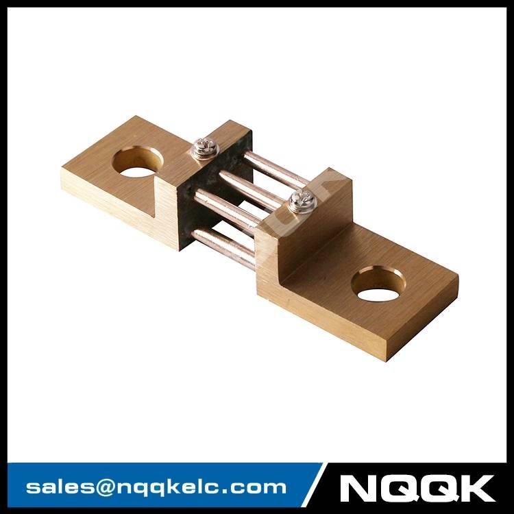 nqqk nqqkelc Brass-Ended Shunt 10A 4000A 50mV 75mV 100mV DC current shunt resistors