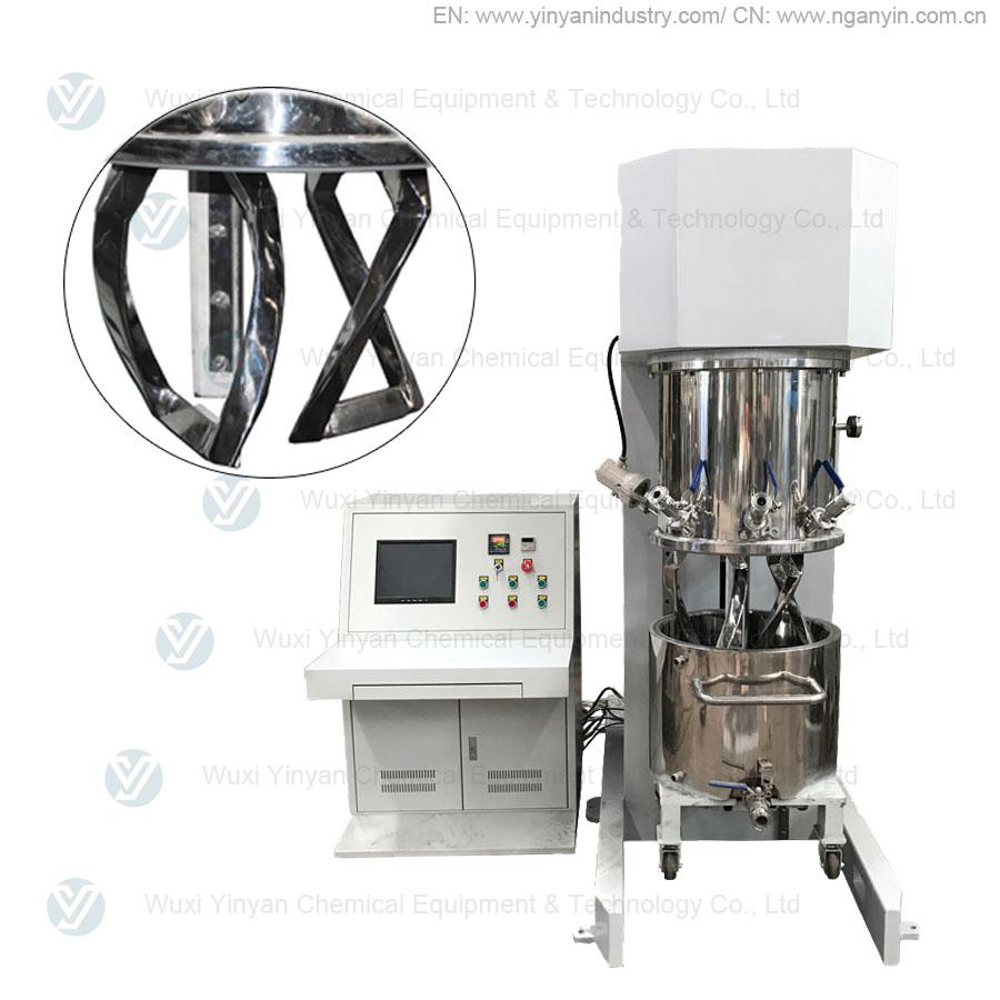 Construction glue making machine from YINYAN factory-dual planetary mixer