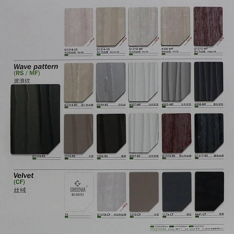 Laminate hard plastic sheet Arborite sheets Compact hpl