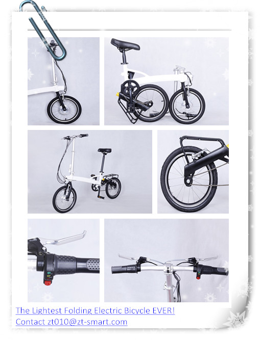Customized folding electric bicycle E-bike ZT E-bike