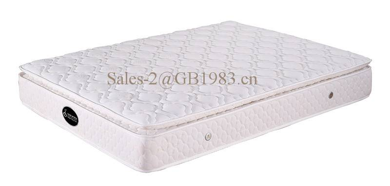Pocket Spring Mattress With RH Foam For Hotel