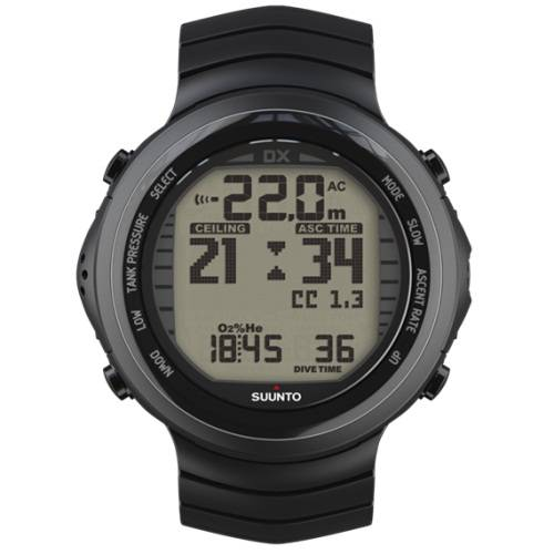 Suunto DX Black Titanium watch