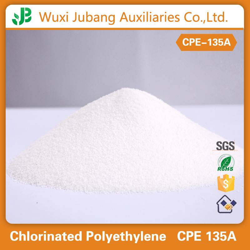 chlorinated polyethylene CPE135A,25kg/bag,meet your requirements,great quality