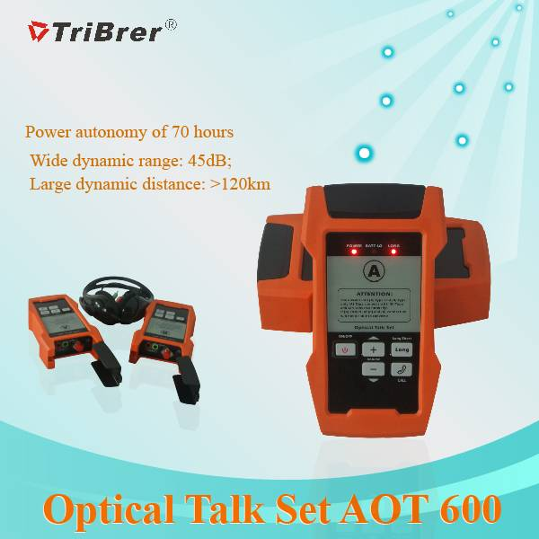 Optical Talk Set, Fiber Talk Set Tribrer Brand AOT600,Optical Talk