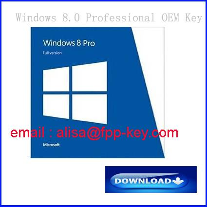 Oem/Fpp original key for windows 8 professional ,for win 8 oem key