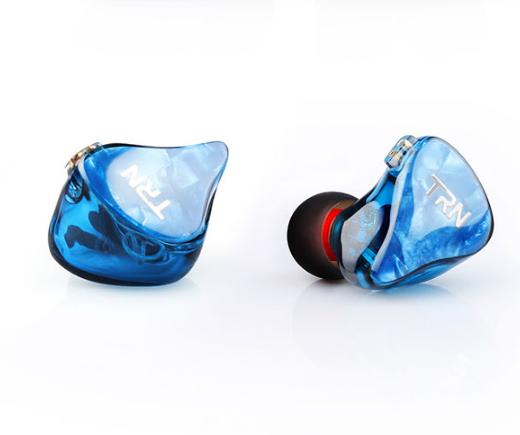 TRN IM2 Earphone 1DD 1BA Dual Hybrid Unit Driver Resin Case Headset with Microphone