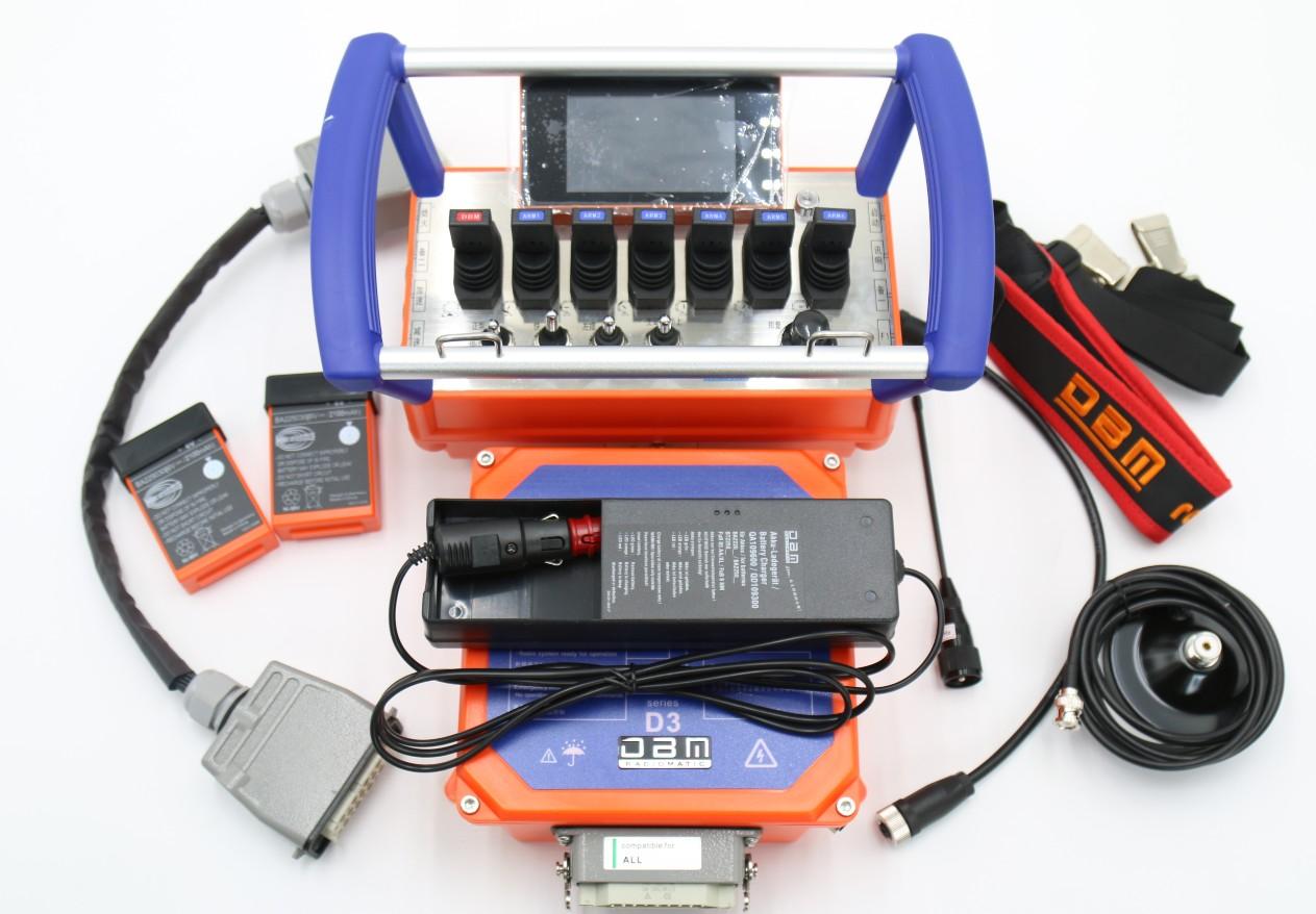 concrete pump truck wireless HBC remote control