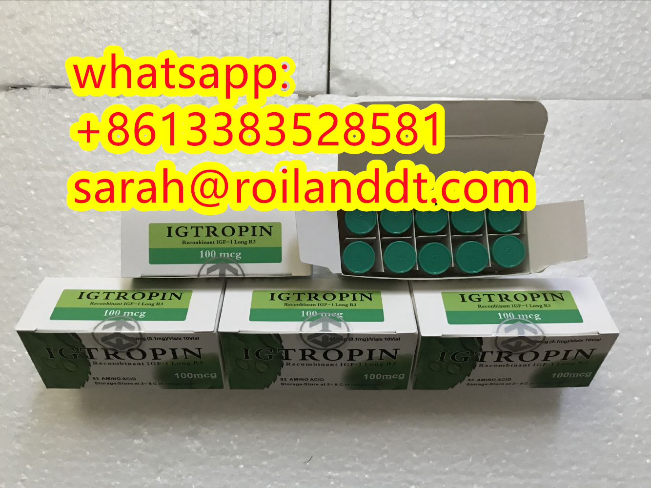 Fast shipping HGH Igtropin Steroid CAS 946870-92-4 whatsapp+8613383528581
