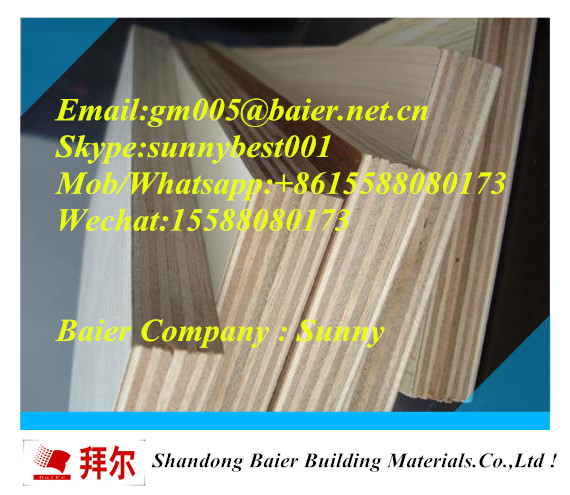 high quality 18mm bintangor commercial plywood for furniture
