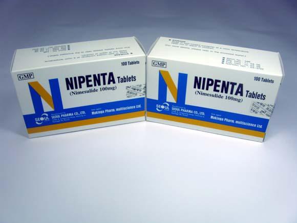 Medicine (NIPENTA Tablets)