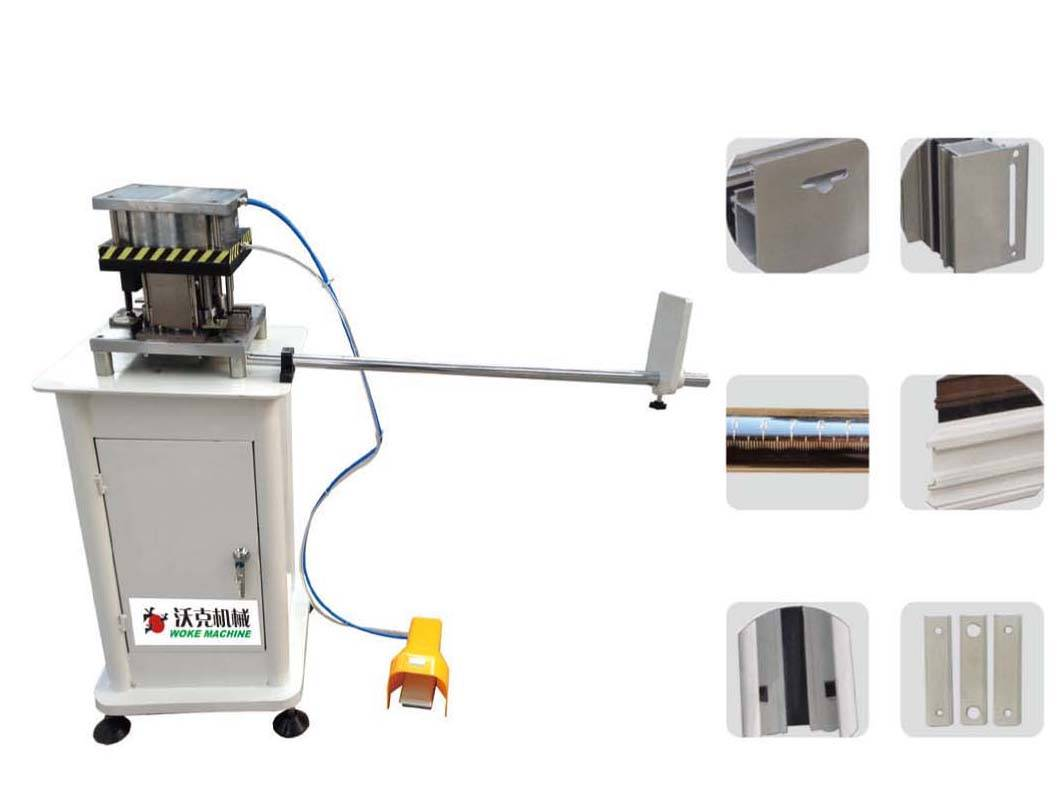 Aluminum alloy punching machine