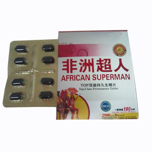 African Superman Sex Products for Man