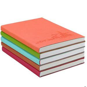 A5 Soft PU Leather Cover Notepad