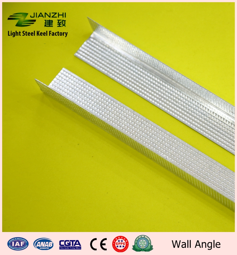 Hot sale 30/30mm fire proof galvanized steel ceiling wall angle for Asia