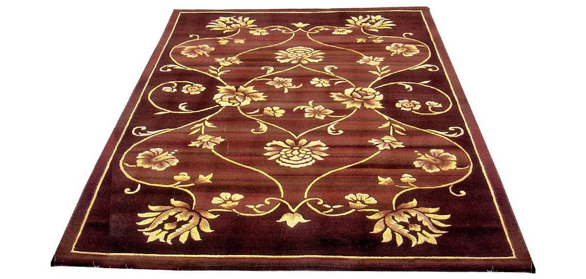 silk handmade carpet