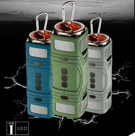 Thunder Waterproof Portable Wireless Outdoor Sports Speaker Caixa De Som Bluetooth PILL Speaker
