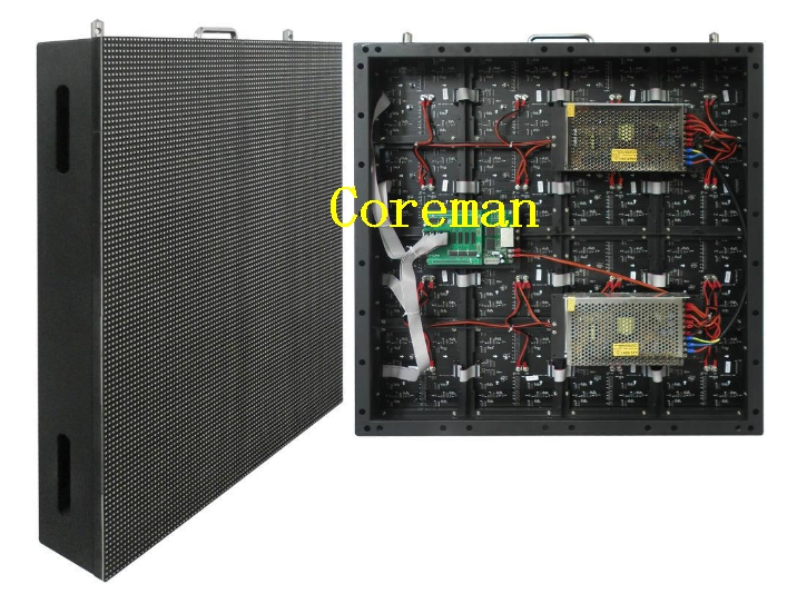 video hd full color outdoor iron steel cabinet indoor p3 p4 p5 p6 hd video led display screen board