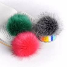 Fashion Wholesale Multi Color Raccoon Fur Pom Poms Ball
