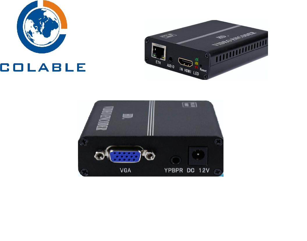 COL-8101HV single channel Multi-port IPTV encoder