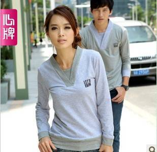 Couple long sleeve T Shirt 2011 new arrival autumn clothing Corea L312