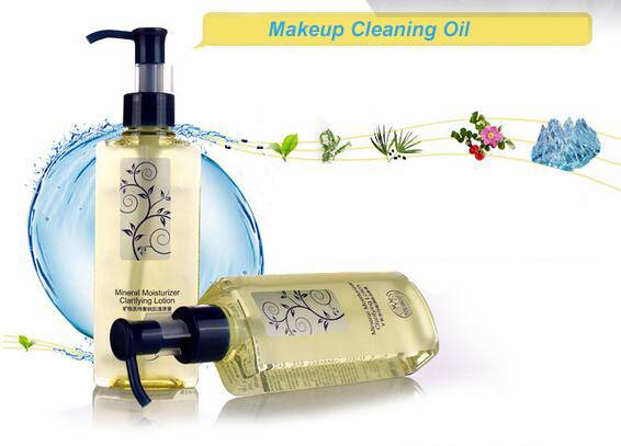 Natural Makeup Cleaning Oil