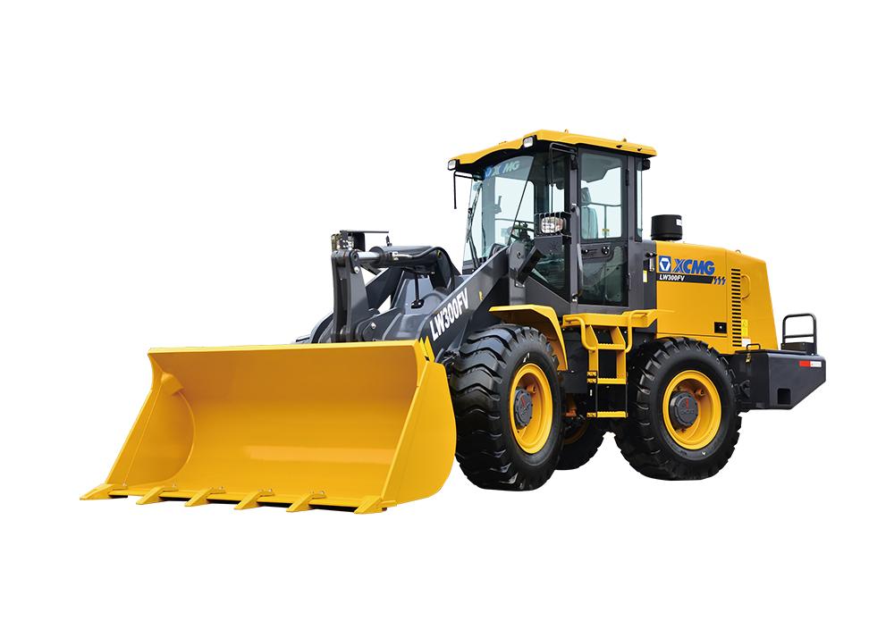 China XCMG 3 ton wheel loader LW300FV road machinery