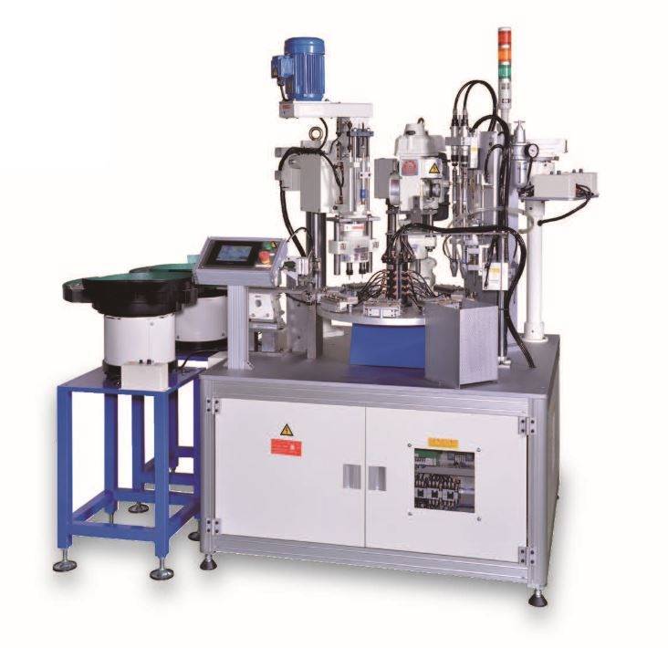 Auto feeding drilling / tapping / screw assembly special purpose machine