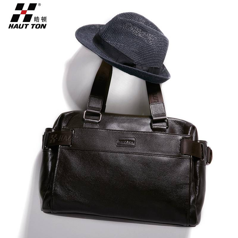 new leather men bags
