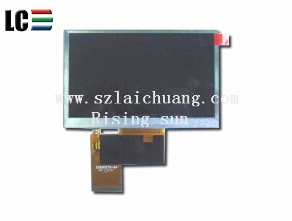 """INNOLUX 4.3"""" TFT LCD AT043TN25 V.2"""