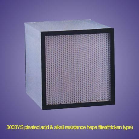 Pleated hepa Filter