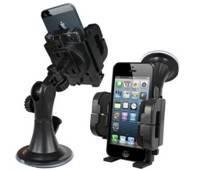 "Universal Car Holder Windshield Mount Bracket for Iphone 5s mobile phones 360"""