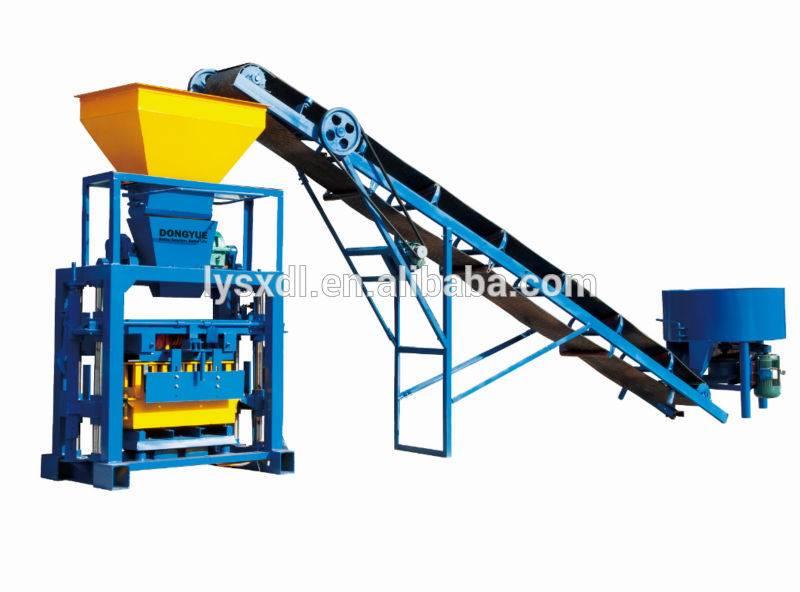 QT40-1 manual brick making machine price