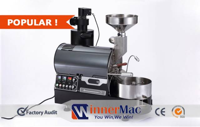 Commercial professional high quality coffee roaster for sale