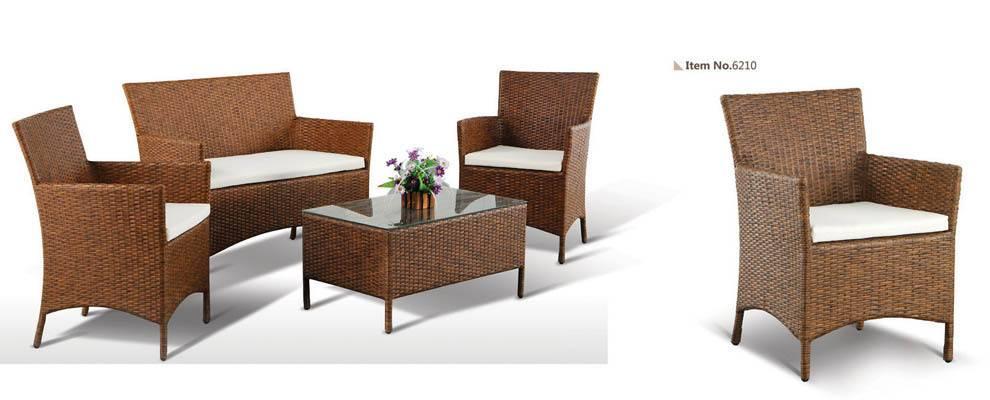 KD Style All Weather Wicker Sofa Set