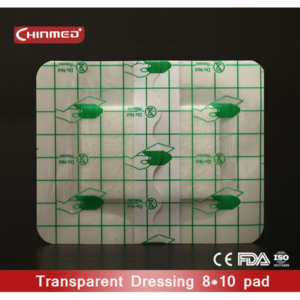 disposable Transparent island wound dressing