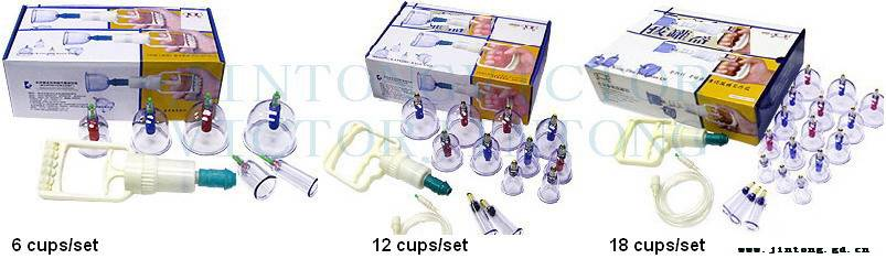 Pain relieving Vacuum Suction Cupping Sets