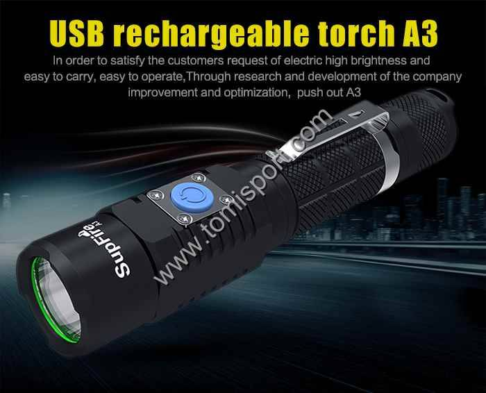 Waterproof Bicycle Flashlight