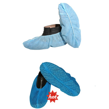 disposable protective pe isolation shoe cover labor safety protection shoe cover
