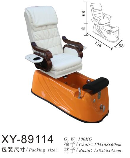 Classic Salon Spa Pedicure Chair Foot Massage XY-89114