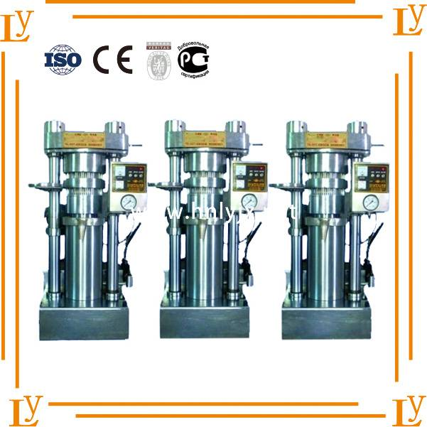 walnut sesame Canola hydraulic oil cold press machine