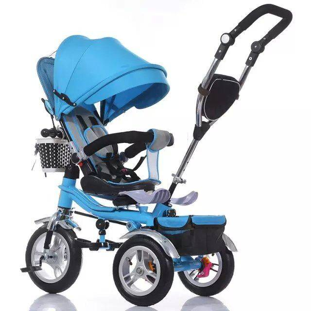 QJ-527 4 in 1 tricycle for 2 to 5 years old /3 wheels ride on / Qiangjiu Bicycle Group